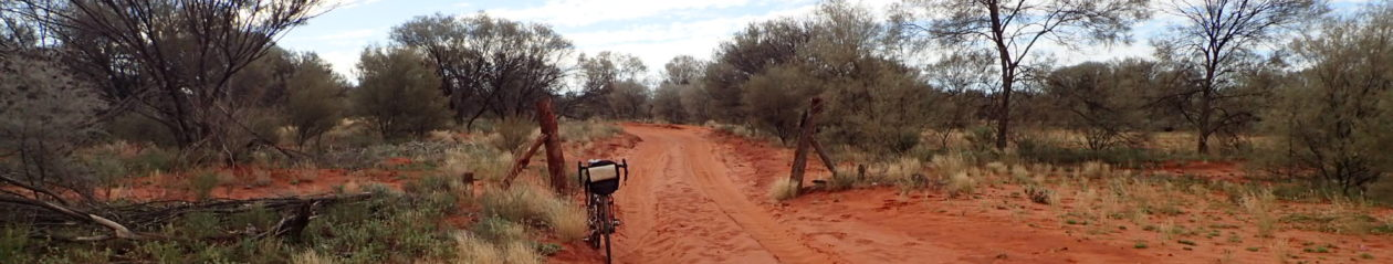 Straggling Stu – Slow bicycle trips across Australia